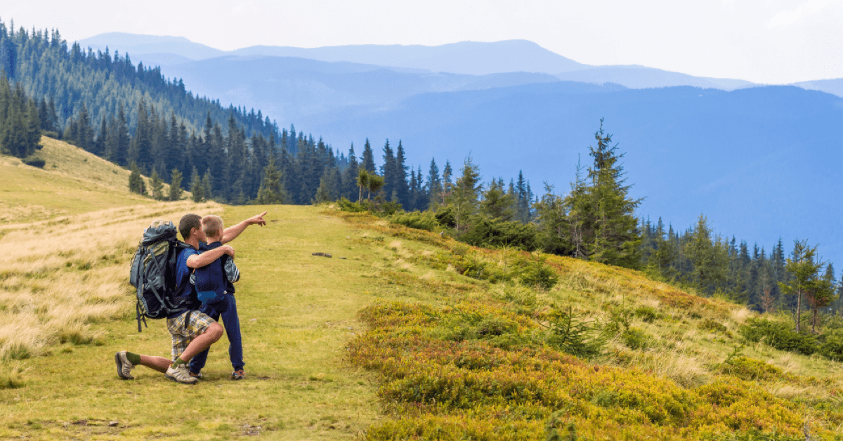 vacanza in montagna con i bambini