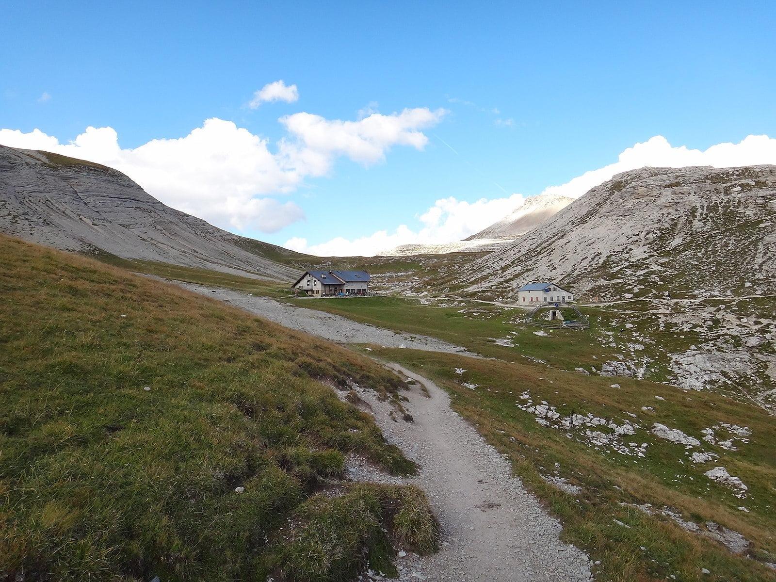 Rifugio Genova: escursione sull'Alta Via n 2 delle Dolomiti