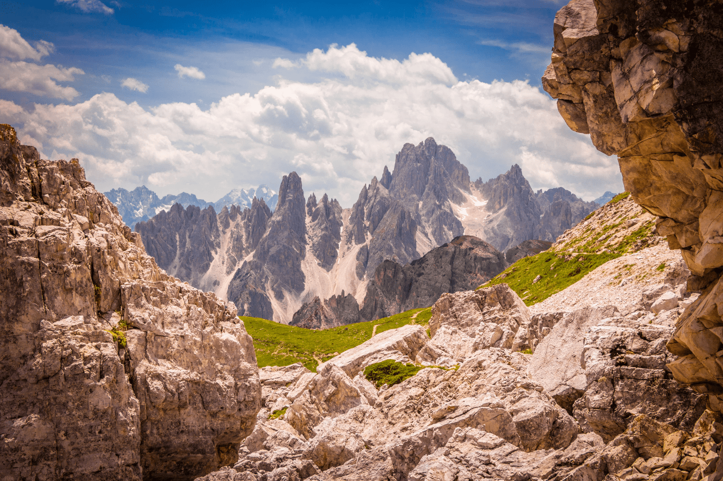 Le Dolomiti e la leggenda dei Monti Pallidi