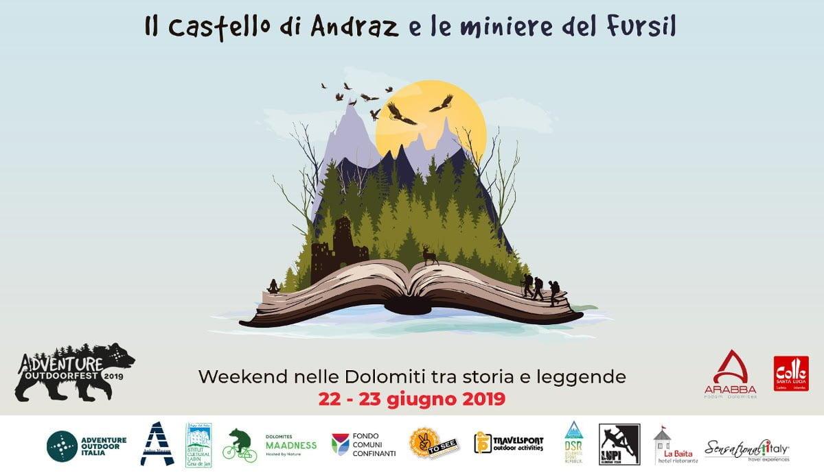 Weekend al Castello di Andraz e alle Miniere del Fursil