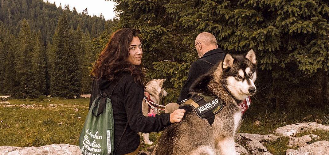 Un viaggio a 6 zampe sulle Dolomiti con Andrea di takemetoalaska