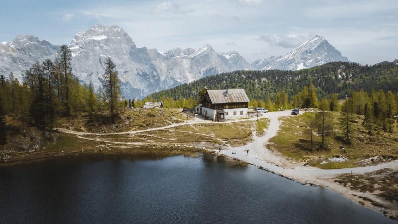 Escursione al Rifugio Croda da Lago e Lago Federa