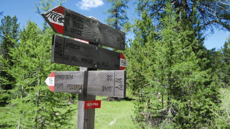 Segnaletica in montagna: l'importanza di saperla leggere